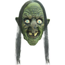 Madame Ydhra Latex Witch Mask Old Hag Swamp Witch Halloween Ghoulish Productions