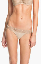 NWOT ultra nude Chantelle Intimates  'Vendôme' Tanga  style 1909 size L