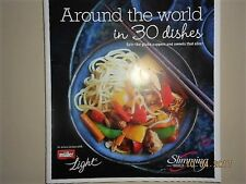 SLIMMING WORLD AROUND THE WORLD IN 30 DISHES 49 PG BOOKLET 30 RECIPES BRAND NEW