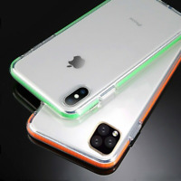 For iPhone 11 Pro Max XS Max XR 7 8+ Shockproof Protective Clear Soft Case Cover