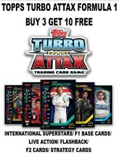TOPPS TURBO ATTAX F1 FORMULA 1 2020  - BASE CARDS #1 - #141 BUY 3 GET 10 FREE