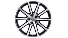 Original Audi Q5 8R Aluminium-Felge im 10-Speichen-Design anthrazit 20 Zoll