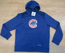 Majestic Chicago Cubs Thermabase Performance Hoodie Jacket size Men's Large