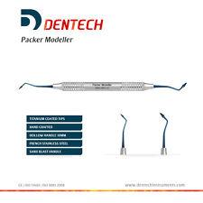 Packer appassionato di modellini Riempimento Composito Dentale Strumento a mano titainum Blu * CE *