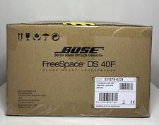 NEU Bose Professional freier Speicherplatz DS 40f Lautsprecher mit Trafo in Weiß