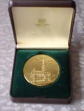 Brussel Bruxelles medaille 50 mm URBS Bruxellae Grata ontwerp De Bremaecker