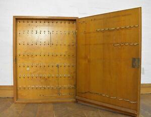 Vintage wall hanging key cabinet - cupboard