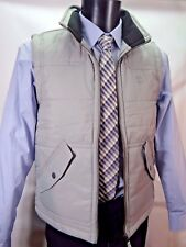 Timberland Grey Padded Gilet Vest Bodywarmer Quilted S