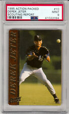 1995 Action Packed Derek Jeter Scouting Report #10 PSA MINT 9