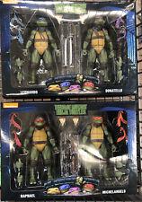 NECA TMNT Set - Teenage Mutant Ninja Turtles WALMART Leo/Don/Raph/Michael