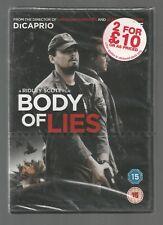 BODY OF LIES - sealed/new UK REGION 2 DVD - Leonardo DiCaprio
