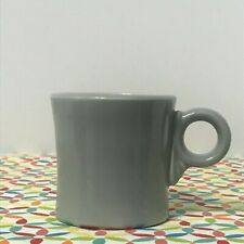 Vintage Fiestaware Gray Mug Fiesta 1950s Ring Handle Tom and Jerry