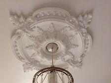 Ceiling Rose intonaco tradizionale Vittoriano Ciondolo Decorazione Luce 72cm cr7