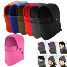 Thermal Fleece Balaclava Winter Ski Motorcycle Neck Face Mask Cover Hood Hat Cap