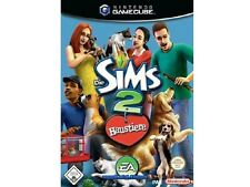 ## Die Sims 2 - Haustiere (Deutsch) Nintendo GameCube / GC Spiel - TOP ##
