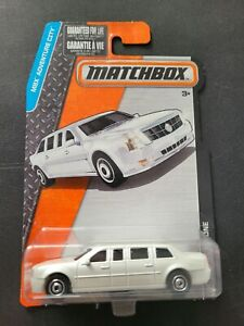 🔥 MATCHBOX CADILLAC ONE IN WHITE PRESIDENTIAL LIMOUSINE NICE RARE 🔥