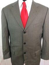 Joseph Abboud Men's Check Grey Blazer 42R $695