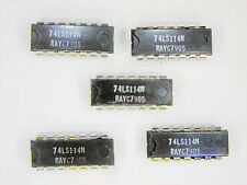 "RAY74LS114N  ""Original"" Raytheon  14P DIP IC  5  pcs"