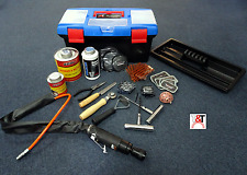 68 Pce Professional Tyre/Tire Repair Kit/Tool Set For Radial and Bias-Ply Tyres