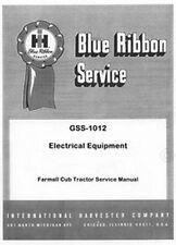 International Farmall Cub Electrical Service Manual