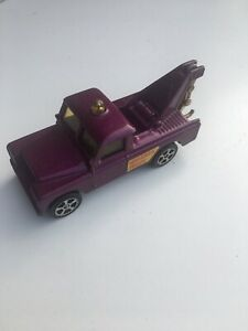 CORGI Juniors Whizzwheels Land Rover tow truck purple
