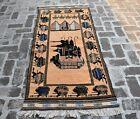 2'11 x 6'7 ft Handmade afghan tribal best shindand tang top wool war area rug