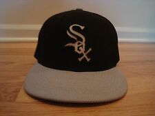 Chicago White Sox hat cap New Era 7 1/8 Batting Practice BP Gray Alternate Black
