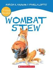 NEW Wombat Stew By Marcia Vaughan Paperback Free Shipping
