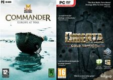 commander europe at war & omerta city of gangsters gold NEW&SEALED