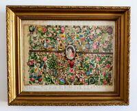 Collage Art Populaire Catalan 19ème siècle