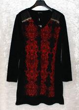 A-Linien-Stil mit V-Ausschnitt aus Polyamid Damenkleider im Kleid