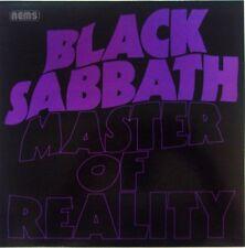 BLACK SABBATH LP VINYL MASTER OF REALITY - VINYL TRANSPARENT - CLEAR VINYL