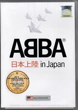 ABBA Conquering Japan 2009 MALAYSIA FLAG EDITION DVD-9 NEW SEALED FREE SHIPMENT