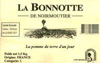 Publicité contemporaine en bois la perle de Noirmoutier la Bonnote