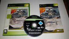 * Original Xbox Classic Game * CONFLICT DESERT STORM * X Box