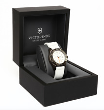 Victorinox Swiss Army 241556 Dive Master 500 White Dial Watch 0106