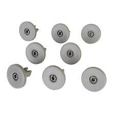 For AEG, Electrolux, Tricity Bendix, Zanussi Dishwasher Basket Runner Wheels x 8
