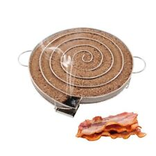 Grill Smoker Hot Cold BBQ Smoking Generator Wood Dust Salmon Meat Cooking Tool