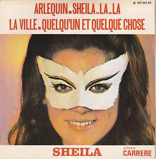 SHEILA  45 T . EP . ARLEQUIN  SHEILA..LA..LA  LA VILLA  QUELQU'UN QUELQUE. 1969