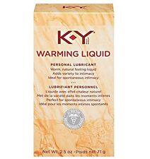 3 Pack - K-Y Warming Liquid Personal Lubricant 2.5 oz Each