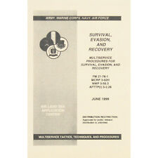 U.S. Survival, Evasion And Recovery Manual June 1999 FM 21-76-1 New