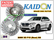 "BMW X5 F15 disc rotor KAIDON (Rear) type ""RS"" / ""BS"" spec"