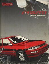 1993 GEO Prizm ~ Original GM Factory Repair Shop Manual ~ ST373-93