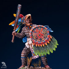 Aztec Eagle Warrior Tin Painted Toy Soldier Pre Sale | Art Quality