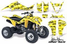 Atv Pegatina Gráfico Kit Envuelva Para Suzuki LTZ400, Kawasaki KFX400 03-08 Sssh