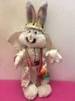 Peluche Doudou Vintage Bugs Bunny Dans Le Désert Warner Bros 1998 40 Cm