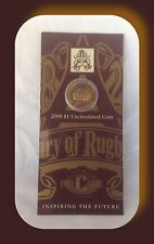 2008 $1- uncirculated coin Rugby Centenary 1908-2008