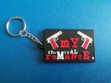 MY CHEMICAL ROMANCE KEY-RING SILICONE RUBBER MUSIC FESTIVAL