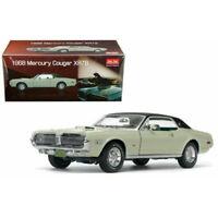 1/18 Sun Star 1968 Mercury Cougar XR7G Hard Top Diecast Seafoam Green SS 1573