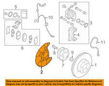 SUBARU OEM 08-15 Forester Front Brake-Backing Plate 26290AG000